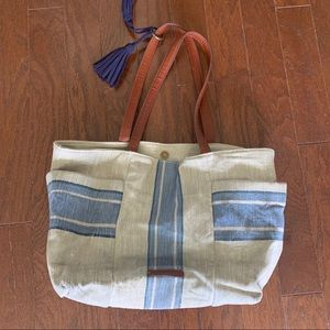 Fossil Relic Bucket Bag Leather Straps